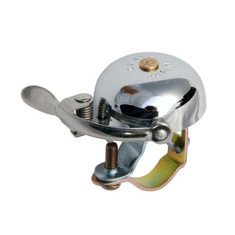 Crane Bell Co Suzu Bell With Steel Band Mount Fits 22.2-25.4mm handlebar